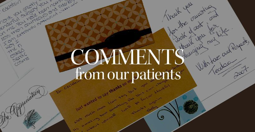 Comments From Patients