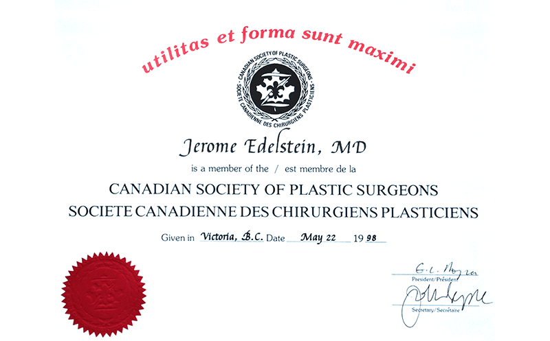 Canadian Society of Plastic Surgeons