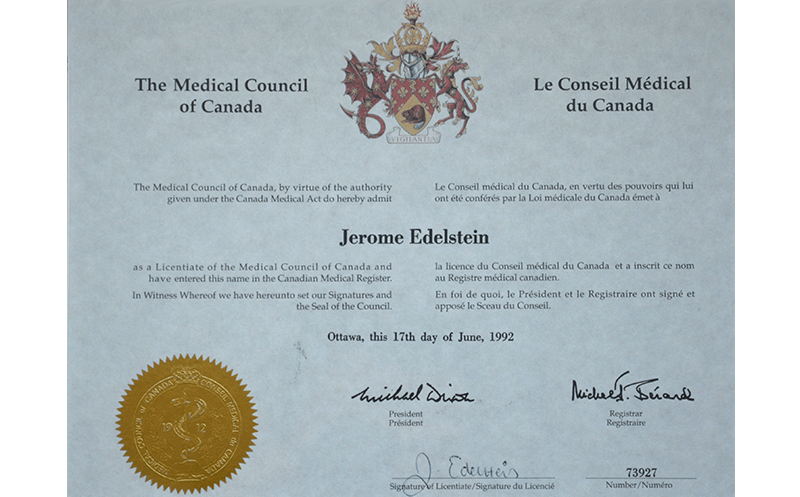 The Medical Council of Canada